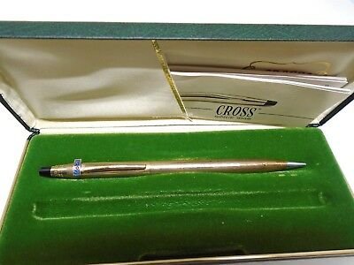 Cross rolled gold mechanical pencil