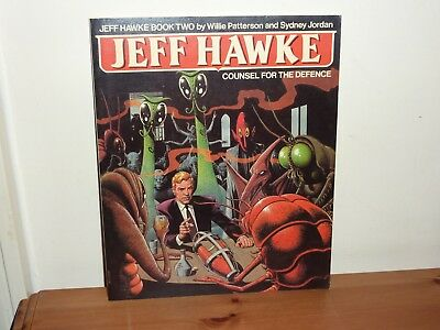 Jeff Hawke Book 2 - Counsel for the Defence - 2000AD Graphic Novel Titan Books