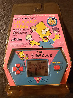 The Simpsons Electronic Handheld Video Game Acclaim 1990