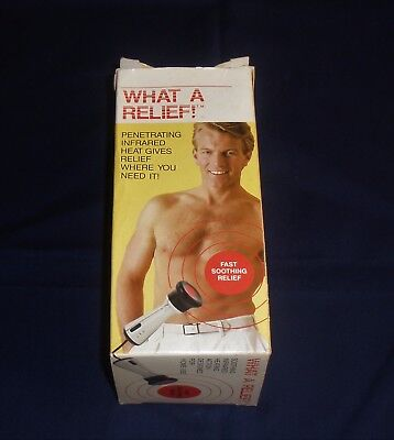 'What a Relief'  Infrared Heat wand for pain... HealthTeam...  Massage.