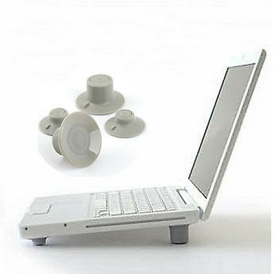 2 Pairs New Laptop Computer Ipad Cooling Feet Leg Stand w/ Different Height GGQ