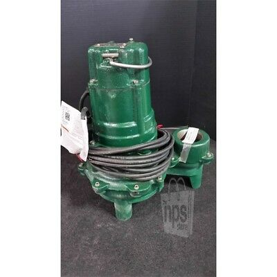Zoeller N270-E Manual Submersible Sewage Pump 1HP 115V 29-132gpm 2in Discharge*