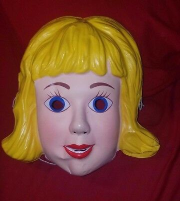 2001 Sugar & Spice Cheerleader Robber Movie Promotional Betty Doll Mask Promo