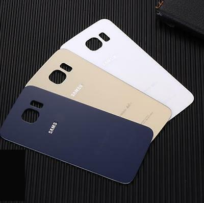 Back Door Rear Glass Cases Battery Housing Skin Covers For Samsung Galaxy S6