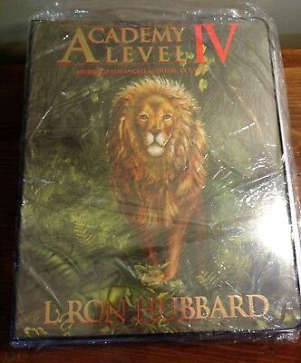 Academy Level 4 Hubbard Certified Auditor Course Binder 4 New
