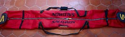 Double Ski Bag Salomon Red in excellient condition 200cm Long