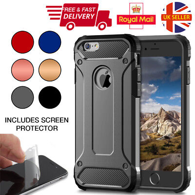 Luxury Ultra Slim Shockproof Bumper Case Cover for Apple iPhone 8 7 6S Plus