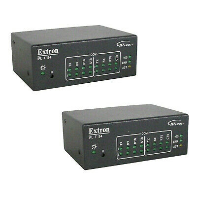 Extron IP Link IPL T S4, Four Serial Port IP Link Control Processor/AV IP Server