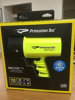 Princeton Tec 700 Lumens Sector 7 LED Light BRAND NEW IN BOX  FREE SHIPPING