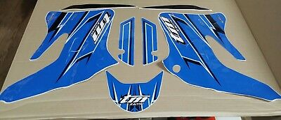 Tm Racing Sticker Decal Graphic Kit 2007 2T 94029.07 Motorcycle Motocross Blue
