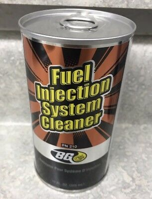NEW BG Fuel Injection System Cleaner PN 210