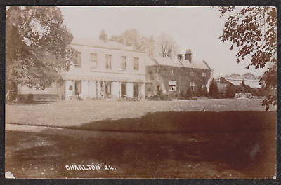1915 CHARLTON BRISTOL REAL PHOTO POSTCARD VILLAGE DEMOLISHED IN 1940,s FILTON
