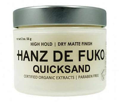 Hanz De Fuko Quicksand 2 oz NEW FAST FREE SHIPPING