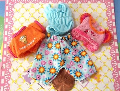 Kelly Krissy Polymer Doll Clothes *Krissy Happy Family Toddler Doll Clothes* 4pc