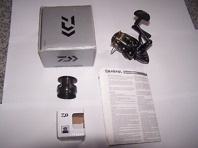 Daiwa Legalis 2500Ha Reel -Boxed-Instructions And Spare Spool