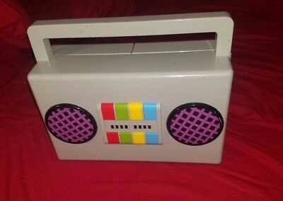 YO GABBA GABBA Boom Box Radio Playset MUSIC WORKS  FREE US SHIPPING