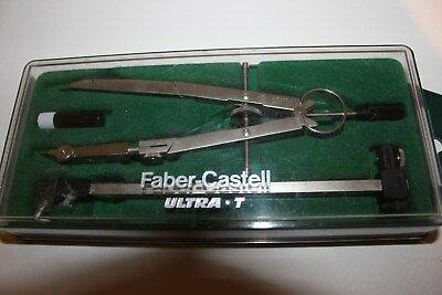 Faber Castell Ultra T Giant Springbow Compass Boxed