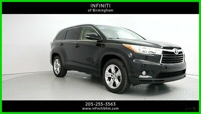 2015 Toyota Highlander Limited 2015 Limited Used 3.5L V6 24V Automatic FWD SUV Premium Moonroof