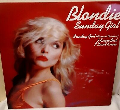 "Blondie ~ Sunday Girl 12"" Vinyl Single Vgc"