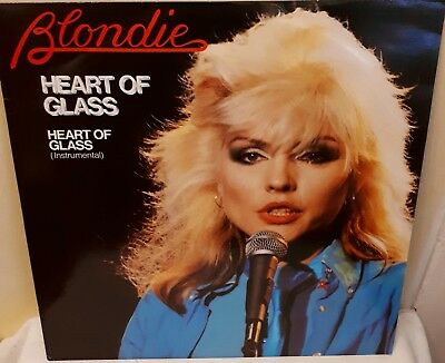 "Blondie ~ Heart Of Glass 12"" Vinyl Single Vgc"