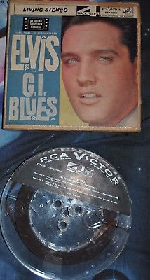 ELVIS PRESLEY on RCA Victor —G.I. BLUES— REEL-TO-REEL 7.5 ips STEREO [FTP-1045]