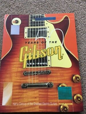 50 Years Of The Gibson Les Paul Guitar Book By Tony Bacon 2002