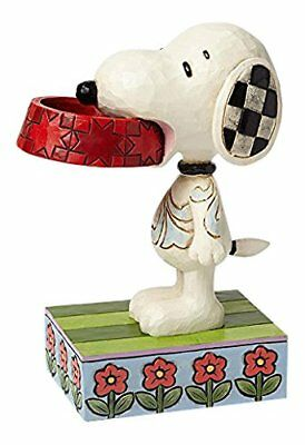 Jim Shore - Peanuts - Snoopy With Dog Dish - Ornament - 4049411