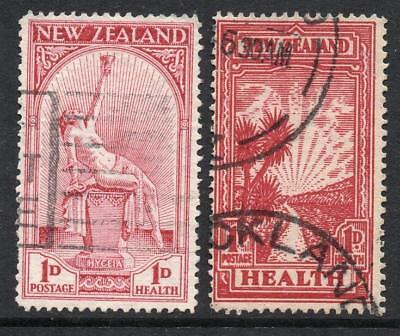 NEW ZEALAND 1932 & 3 Health  Excellent Fine Used Quality Stamps No Hidden Faults