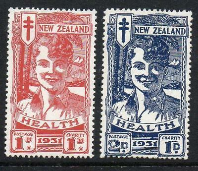 NEW ZEALAND 1931 Health Very Light Mounted Mint with gum Excellent Quality Set