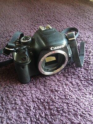 Canon EOS Rebel T3i / EOS 600D 18.0MP Digital SLR Camera Black (Body Only) used