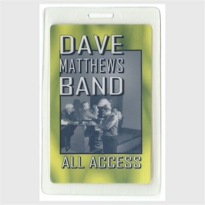 Dave Matthews Band authentic 2004 concert tour Laminated Backstage Pass original