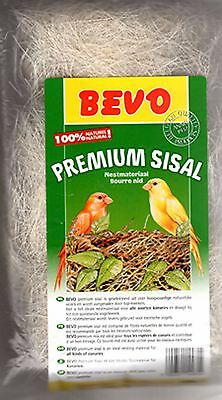 PREMIUM SISAL NESTING MATERIAL for Breeding Birds Finch Canary British 100grams