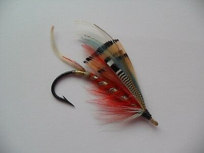 Thorndyke Size 5/0 Vintage Gut Eye Salmon Fly Date 1920's