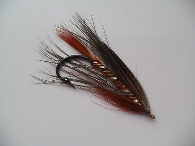 Lady Caroline Size 5/0 Vintage Gut Eye Salmon Fly Date early 1900's