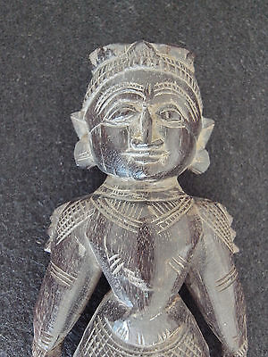 South Indian Goddess, heavy rosewood, India