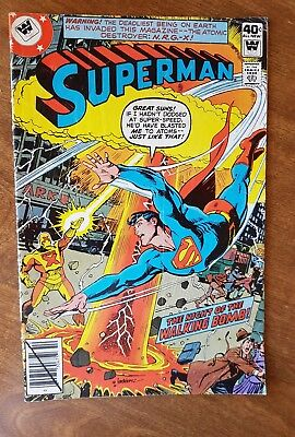 Superman #340 Whitman Oct 79 Fvf Combine Shipping
