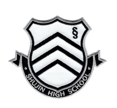 Persona Shujin High School Iron on Halloween Patch