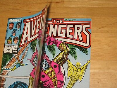 Double cover Avengers #278 New old stock