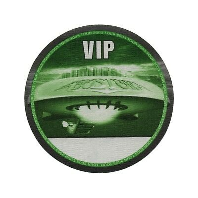Boston authentic VIP 2003 tour Backstage Pass
