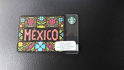 Starbucks Mexico Gift Card New 2017 LAST ONE