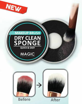 Magic Collection Makeup Brush Dry Clean Sponge Quick & Simple Cleaner #MTO009