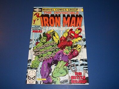 Iron Man #132 Bronze Age Hulk NM-  Gem Wow