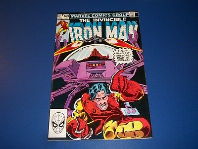 Iron Man #169 1st Rhodie as Iron Man partial Key Fine+ Beauty Wow