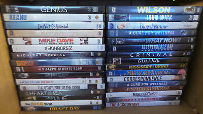 Lot of 30 Different DVD Movies (Lot 515)