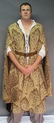 Medieval; costume; game of thrones; Vary's style robe; male robe;  #W26