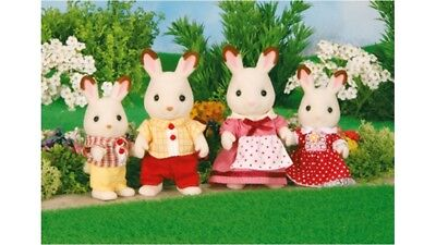 Sylvanian Families Chocolate Rabbit Family Kids Toys for Early Development