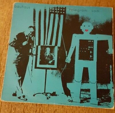 Bauhaus Telegram Sam vinyl LP