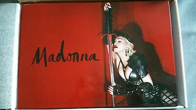 MADONNA Rebel Hearts Tour Concert VIP Book Limited Edition Promo Ticket + PASS