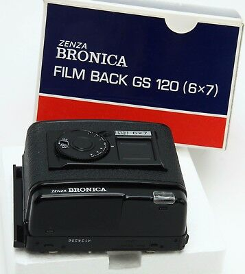 Bronica GS-1 6x7 120 Film Back , medium format, box, nice #362939
