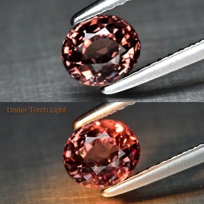 1.10ct 5.7x5mm Oval Natural Unheated Color Change Garnet, Africa